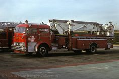 Vintage FDNY 75 ft Tower Ladder at Fire Training Academy Mack Trucks, New Trucks, Fire Dept, Fire Department, Ambulance, Cool Fire, Fire Fire, Trailers, Chariots Of Fire