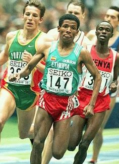 Haile Gebre Selassie is regarded universally as the greatest distance runner