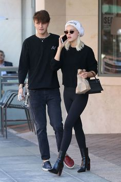 #BeverlyHills, #NicolaPeltz Nicola Peltz and Anwar Hadid Wear Matching Black Outfits - Beverly Hills 06/19/2017 | Celebrity Uncensored! Read more: http://celxxx.com/2017/06/nicola-peltz-and-anwar-hadid-wear-matching-black-outfits-beverly-hills-06192017/