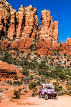 Best family activity in Sedona Arizona.  Don't miss doing one of the spectacular and thrilling Pink Jeep Tours in Sedona Arizona. Highly recommended by many in our community. Come see what it's like, if you love adventure travel, outdoor experiences, and 4x4 off-roading, click inside to see now. Fun for all the family, yes, this is even better with kids!  #Sedona #Arizona #traveltips #adventuretravel
