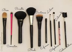 TOP 10 Pincéis de maquilhagem  10 make-up brushes that every girl should have. Makeup Brushes, Makeup Tips, Make Up, Skin Care, Youtube, Top, Beauty, Makeup Products, How To Make Up