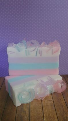 Soap Loaf - Cotton Candy by Lavish Body ~ Handmade Natural Bath & Body Treats ~