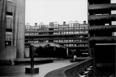 The Barbican Housing estate, City of London, c.May 2004. Barbican B&W023 | Flickr - Photo Sharing!