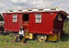 British showman's wagon by Anguskirk, via Flickr