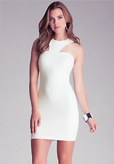 Racerneck Dress