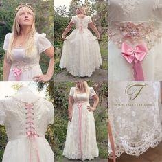 Fairy tale wedding dress commission by ~Jolien-Rosanne on deviantART