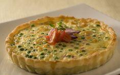 Receita de Torta de queijo com presunto de peru - iG