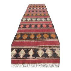 This Beautiful Runner Rug is From Eastern Turkey. Kilim Runner, Johnson City, Late 20th Century, Kilims, Home Rugs, Kilim Rugs, Bohemian Rug, Weaving, Turkey