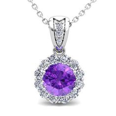 Build Lace Diamond And Gemstone Necklace In 14k 18k Gold