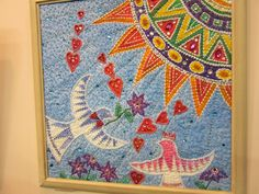 Let's return to the Tokyo International Great Quilts Festival 2015 and look at the framed quilts. Description from queeniepatch.blogspot.com. I searched for this on bing.com/images