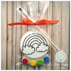 PYO Paint-Your-Own sugar cookie favors.
