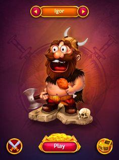 Igor / The Barbarian on Behance