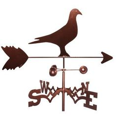 SWEN Products Pigeon Weathervane - 1104-SIDE, SWEN103-3
