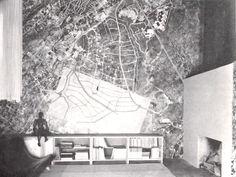 Vista del estudio del taller, Casa Barragán, Calle General F Ramírez, Tacubaya, Ciudad de México 1948 Arq. Luis Barragán Foto. Elizabeth Timberman View of Estudio-Taller, Barragan House, General F Ramírez, Tacubaya, Miguel Hidalgo, Mexico City 1948