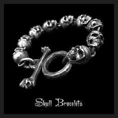 Fist of strength Viking Bracelet 925 silver Fist rotate bracelet Viking Bracelet, Skull Bracelet, Skull Necklace, 925 Silver Bracelet, Silver Necklaces, Silver Jewelry, Silver Rings, Mens Skull Jewelry, Silver Skull Ring