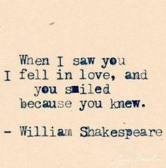 Willam Shakespeare  <3 <3
