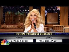 Wheel of Musical Impressions with Christina Aguilera - YouTube