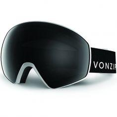 Vonzipper Jetpack Goggle 2016 Black Satin Fire Chrome lens
