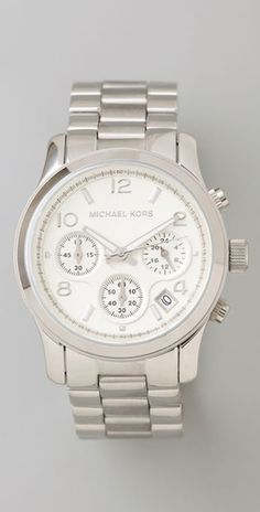 Michael Kors Jet Set Sport Watch (bridesmaids gift- and have the girl's initials and the date of the wedding engraved on the back)