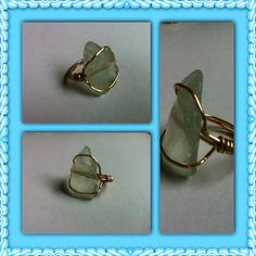 Simply Sea Glass Ring