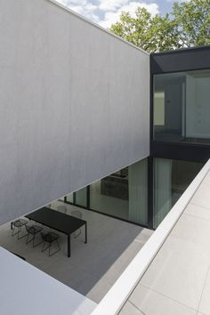 DM Residence / CUBYC architects bvba, courtyard