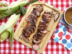 Southern Pork Tenderloin With Bourbon and Brown Sugar