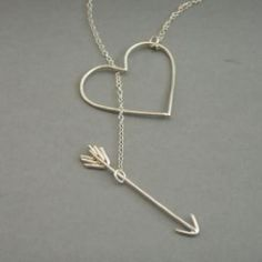 Heart and arrow jewelry! #artfirelink