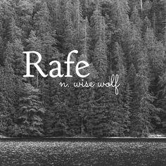 Name Rafe (Norse origin) names boy biblical names boy . Name Rafe (Norse origin) names boy biblical names boy black names boy country names boy spanish Unisex Baby Names, Cute Baby Names, Unusual Words, Rare Words, Biblical Baby Names Boy, Hispanic Baby Names, Southern Baby Names, Name Inspiration, Pretty Names