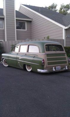 Old woodie