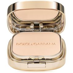Dolce&Gabbana Perfect Matte Powder Foundation (230 BRL) ❤ liked on Polyvore featuring beauty products, makeup, face makeup, foundation, beauty, warm, powder foundation and dolce gabbana foundation