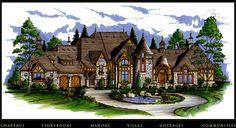 Click to see this European dream! Dourdone Concept Plan...