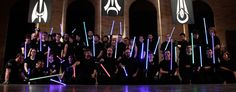 LudoSport LSCA - Lightsaber Combat Academy I bet Chicharín would love to attend this Academy :) Nerd Love, Love Stars, Geek Out, Geek Girls, Cultura Pop, Lightsaber, S Star, Far Away, Academia