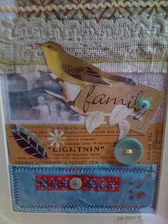 Collage made for a workshop on family memories.
