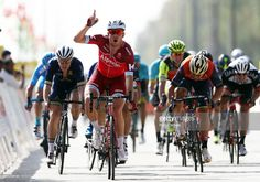 #TOO2017 Alexander Kristoff of Norway and Team Katusha Alpecin celebrates winning stage one of the 8th Tour of Oman, a 176.5km stage from Al Sawadi Beach to Naseem Park on February 14, 2017 in Naseem Park, Oman.