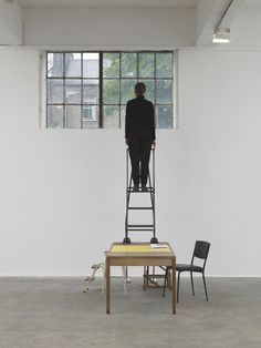 Céline Condorelli installation view at Chisenhale Gallery, London, 2014.