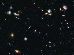 #NASA Every dot of light is a galaxy, not a star, when you look as far out of the known universe as you possibly can.
