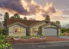Bunker Vistas by D.R. Horton in Las Vegas, Nevada Nevada, New Home Developments, Las Vegas Valley, New Home Builders, Bunker, New Homes, Things To Come, Mansions, House Styles