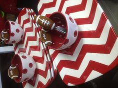 Tailgate party!!! These are so perfect for The U!