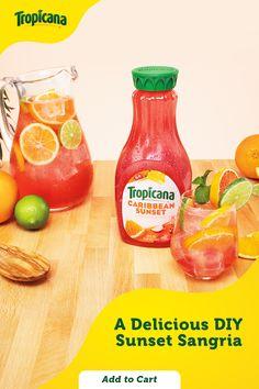 Refreshing Drinks, Summer Drinks, Fun Drinks, Summer Sangria, Healthy Drinks, Summer Drink Recipes, Beverages, Alcohol Drink Recipes, Sangria Recipes