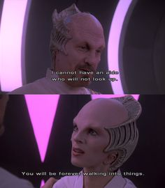 Love the parallel to when Lennier met Delenn. Best Sci Fi Series, New Tv Series, The Punchline, Babylon 5, January 26, Live Long, Science Fiction, Imagination, Literature