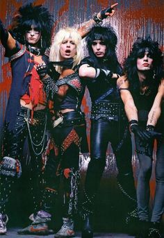 Mötley Crüe  Some of the hottest guys that ever lived