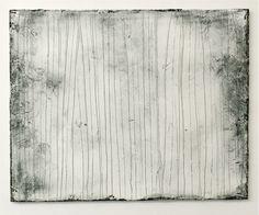 Hideaki Yamanobe|Pamukkale - Scrach No.4 acrylic and sand on canvas 2013 80 x 100 cm