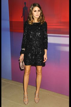 Olivia Palermo sequined dress