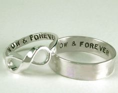 His and Her promise rings