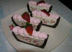 Nepečená jogurtová torta.