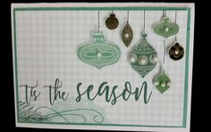Kaisercraft Mint Wishes handmade by Kay Holiday Cards, Christmas Cards, Christmas Tree, Holiday Decor, Christmas Wishes, Tis The Season, Birthday Cards, Mint, Craft Ideas