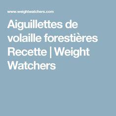 Aiguillettes de volaille forestières Recette | Weight Watchers