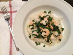 Ramp Scampi: A Broad Cooking