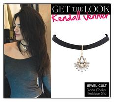 ... Kendall Jenner - Shop our Diana Choker Necklace to get Kendall's look