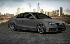 3D Tuning Audi A5 Black Matt